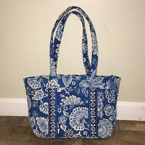 Blue and white Vera Bradley shoulder bag